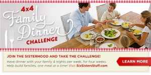 4X4 dinner challenge