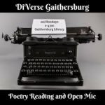 Sunday, Jan. 14: DiVerse Gaithersburg Poetry Reading and Open Mic